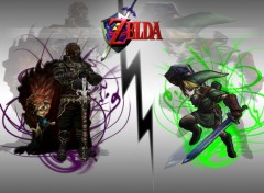 Fonds d'cran Jeux Vido link vs ganondorf