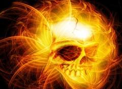 Fonds d'�cran Fantasy et Science Fiction crane de l'enfer
