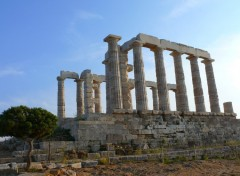 Fonds d'�cran Voyages : Europe TEMPLE POSEIDON