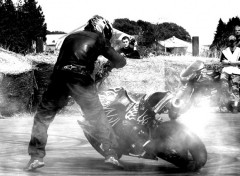 Fonds d'�cran Motos Brestunt - Cyril - Landr�varzec #07