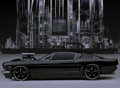 Fonds d'�cran Voitures Mustang Batma-TH- Concept