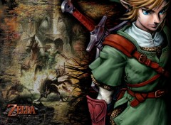 Fonds d'cran Jeux Vido Link - Twilight Princess