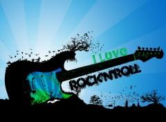 Fonds d'�cran Musique rock'n'roll
