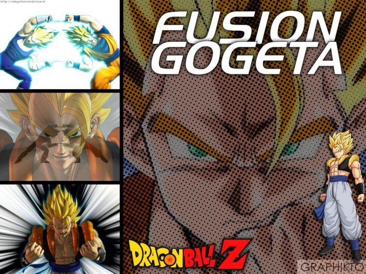 Fonds d'�cran Manga Dragon Ball Z Fusion Gogeta