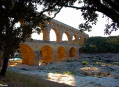 Fonds d'�cran Voyages : Europe Pont du Gard