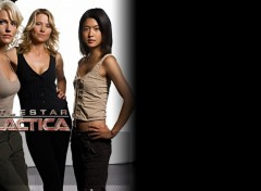Fonds d'�cran S�ries TV Battlestar Galactica Girls