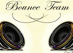 Fonds d'�cran Musique Bounce Team White