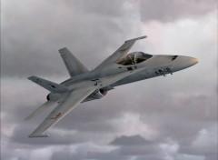 Fonds d'�cran Avions FA 18