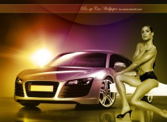 Fonds d'cran Voitures Pin-up car 2008 by bewall.com