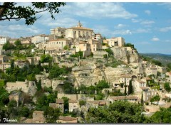 Fonds d'�cran Voyages : Europe Gordes