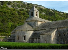Fonds d'cran Voyages : Europe Abbaye Notre-Dame de Snanque