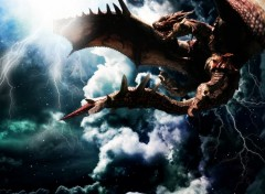 Fonds d'�cran Fantasy et Science Fiction Dragon