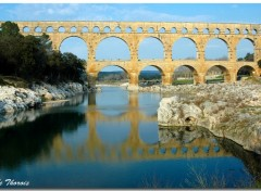 Wallpapers Trips : Europ Pont du Gard