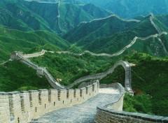 Fonds d'�cran Voyages : Asie muraille de chine