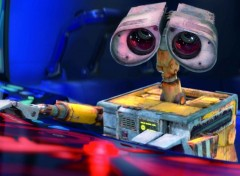 Wallpapers Cartoons Wall-e aux commandes