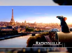 Wallpapers Cartoons Ratatouille - Paris