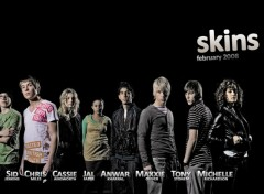 Wallpapers TV Soaps Skins - Cast Saison 2