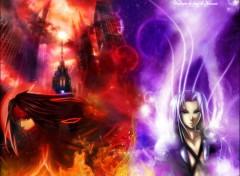Fonds d'�cran Jeux Vid�o Vincent VS Sephiroth