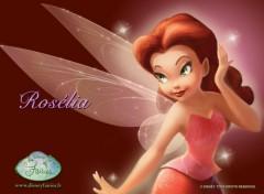 Fonds d'�cran Dessins Anim�s La F�e Clochette (Ros�lia)