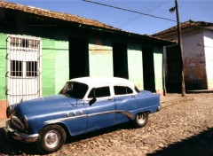 Fonds d'�cran Voyages : Am�rique du nord Havana road