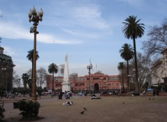 Fonds d'�cran Voyages : Am�rique du sud Plaza de Mayo