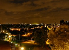Fonds d'�cran Voyages : Europe Islington & Emirates Stadium by Night