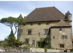 Fonds d'cran Constructions et architecture Chateau d'Yvoire