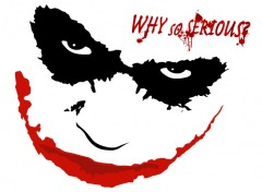 Fonds d'cran Cinma joker face