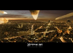 Wallpapers Digital Art meteor art paris