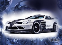 Fonds d'�cran Voitures Tuning mercedes