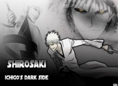 Fonds d'�cran Manga Bleach - Shirosaki, Ichigo's Dark Side
