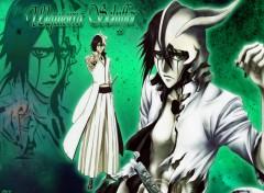 Fonds d'�cran Manga Bleach - Ulquiorra Schiffer