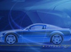 Wallpapers Cars Mustang Concept