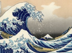 Fonds d'�cran Art - Peinture The Great Wave of Kanagawa
