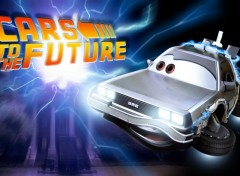 Fonds d'cran Dessins Anims Cars to the Future