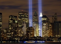 Fonds d'cran Constructions et architecture Tribute to light, Ground Zero, N.Y.