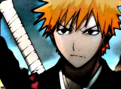 Fonds d'cran Manga Bleach - Kurosaki Ichigo