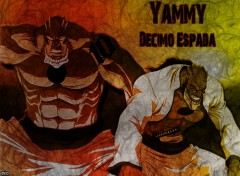 Fonds d'cran Manga Bleach - Yammy, Decimo Espada