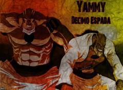 Fonds d'�cran Manga Bleach - Yammy, Decimo Espada