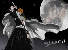 Fonds d'�cran Manga Bleach - Night Savior