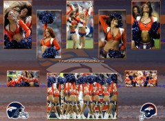 Fonds d'�cran Sports - Loisirs The Cheerleaders Denver Broncos
