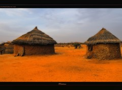 Wallpapers Trips : Africa Cases Peul (Sahel-Burkina Faso)