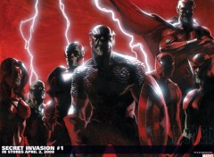 Wallpapers Comics avengers invasion secrete