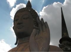 Fonds d'�cran Voyages : Asie Statue de Bouddha (Parc archeologique de Sukotha� - Tha�lande)