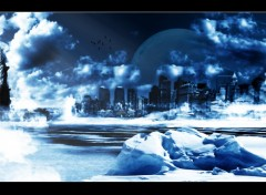 Wallpapers Digital Art Cold NY