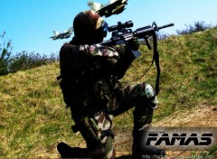 Fonds d'�cran Sports - Loisirs FAMAS AIRSOFT TEAM - nightcyborg