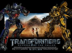 Fonds d'�cran Cin�ma Affiche carton de Transformers 2