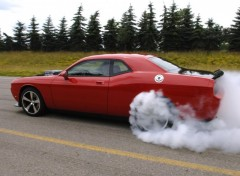 Fonds d'�cran Voitures drift dodge