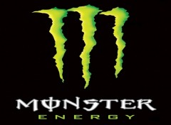 Fonds d'�cran Grandes marques et publicit� monster energy logo