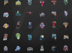 Fonds d'�cran Sports - Loisirs team NBA logos